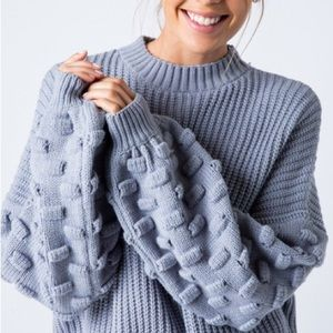 JUST IN NEW! ! Bubble pullover sweater